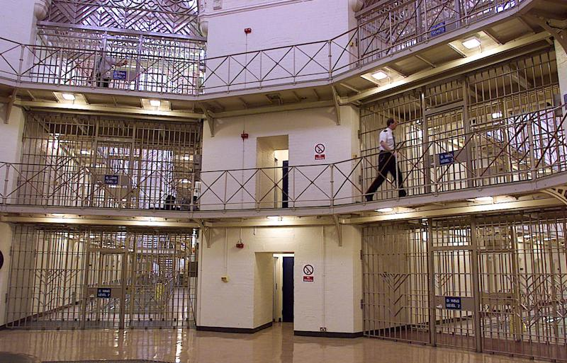 High capacity in Britain's prisons is fuelling violence, the prime minister is expected to say (Picture: PA)