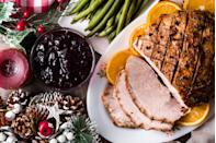 """<p>On Thanksgiving you roast a turkey. Come Easter, you cook that rack of lamb. But when you're planning out your <a href=""""https://www.countryliving.com/food-drinks/g635/holiday-recipe-book-1108/"""" rel=""""nofollow noopener"""" target=""""_blank"""" data-ylk=""""slk:Christmas dinner"""" class=""""link rapid-noclick-resp"""">Christmas dinner</a>, you know the feast just wouldn't be the same without a delicious glazed ham cooking away in the oven. Even though a <em>lot</em> of things are different this year — 2020 will be long remembered for the way it's changed our ability to spend time together — that doesn't mean that you have to give up on every tradition. There should be ham. </p><p>These gorgeously glazed Christmas ham recipes take hardly any effort — just time. You'll want to choose your recipe in advance, just so you know how much time to set aside for it to cook. Not all of them need to go in the oven. You can try out a slow cooker recipe or an Instant Pot recipe and free the oven up for <a href=""""https://www.countryliving.com/food-drinks/g1553/christmas-side-dishes/"""" rel=""""nofollow noopener"""" target=""""_blank"""" data-ylk=""""slk:Christmas sides"""" class=""""link rapid-noclick-resp"""">Christmas sides</a>. And don't worry about making too much. We have plenty of <a href=""""https://www.countryliving.com/food-drinks/g3862/leftover-ham-recipes/"""" rel=""""nofollow noopener"""" target=""""_blank"""" data-ylk=""""slk:leftover ham recipes"""" class=""""link rapid-noclick-resp"""">leftover ham recipes</a> to ensure no morsel goes to waste. </p><p>And just like executing a fantastic <a href=""""https://www.countryliving.com/food-drinks/g1365/turkey-recipes/"""" rel=""""nofollow noopener"""" target=""""_blank"""" data-ylk=""""slk:turkey recipe"""" class=""""link rapid-noclick-resp"""">turkey recipe</a>, the details are everything when it comes to selecting the best Christmas ham recipe. Are you more in the mood for a classic honey ham, or do you want to kick things up a notch with a bourbon molasses glazed ham? No matter which Christmas ham recipe you choose, we guar"""