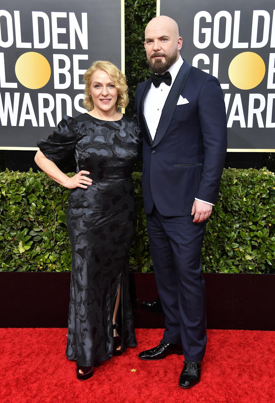 "<h1 class=""title"">Arianne Sutner and Chris Butler</h1><cite class=""credit"">Photo: Getty Images</cite>"