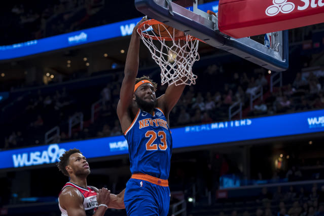 Knicks injury report: Mitchell Robinson, Taj Gibson questionable for opener