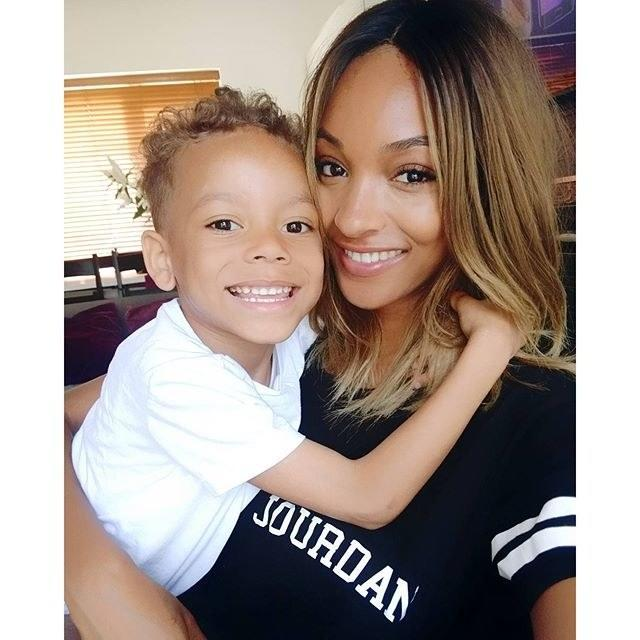 """<div class=""""caption""""> Just 10 weeks after she gave birth to her son Riley, when she was 19, <a href=""""https://www.wmagazine.com/topic/jourdan-dunn?mbid=synd_yahoo_rss"""" rel=""""nofollow noopener"""" target=""""_blank"""" data-ylk=""""slk:Jourdan Dunn"""" class=""""link rapid-noclick-resp"""">Jourdan Dunn</a> was already back on the runway. These days, he's even starring <a href=""""http://www.vogue.co.uk/article/jourdan-dunn-brandon-maxwell-spring-summer-2018?mbid=synd_yahoo_rss"""" rel=""""nofollow noopener"""" target=""""_blank"""" data-ylk=""""slk:in campaigns"""" class=""""link rapid-noclick-resp"""">in campaigns</a> with her. </div> <cite class=""""credit"""">Courtesy of <a href=""""https://www.instagram.com/officialjdunn/"""" rel=""""nofollow noopener"""" target=""""_blank"""" data-ylk=""""slk:@officialjdunn"""" class=""""link rapid-noclick-resp"""">@officialjdunn</a></cite>"""