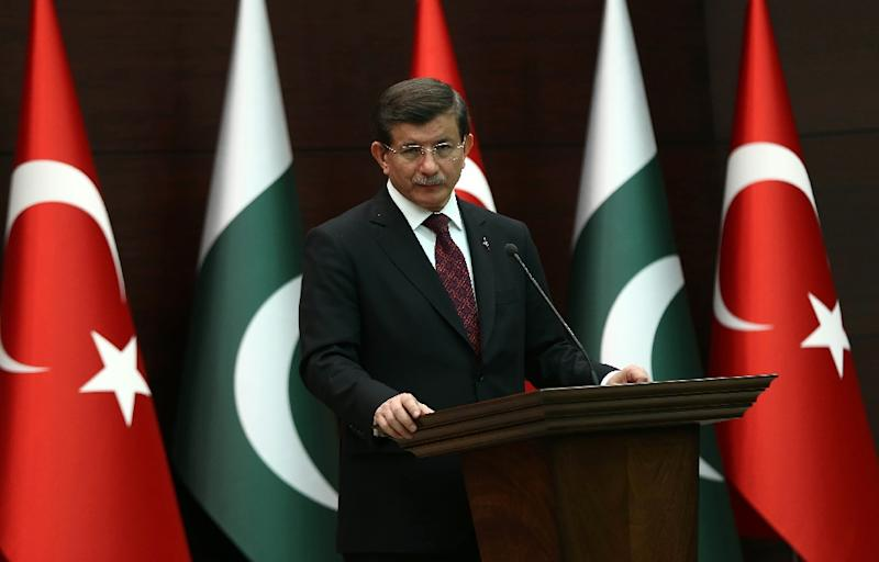 """Turkish Prime Minister Ahmet Davutoglu lashes out at Pope Francis for """"inappropriate"""" and """"one-sided"""" comments after he used the word """"genocide"""" to describe the massacres of Armenians by Ottoman forces during World War I"""