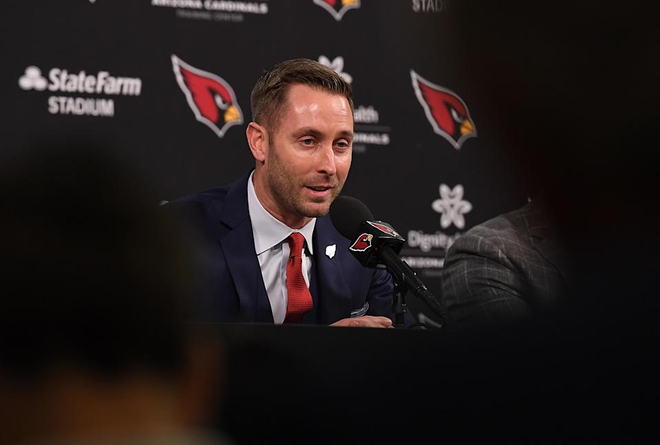 The Cardinals are going all in with Kliff Kingsbury until he flames out or they prove their critics spectacularly wrong. (Getty)