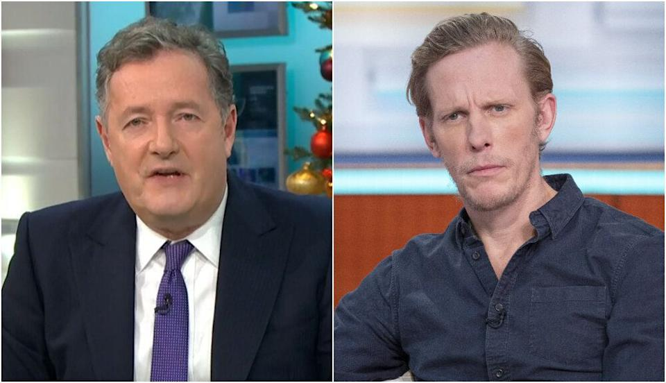 Piers Morgan and Laurence Fox (Photo: Shutterstock/ITV)