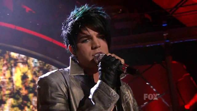 "Adam Lambert performs ""Ring of Fire"" on <em>American Idol</em> Season 8. (Photo: Fox)"