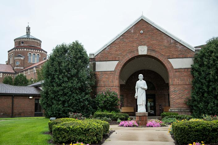 St. Joseph Care Center of the Felician Sisters campus in Livonia on August 1, 2020.