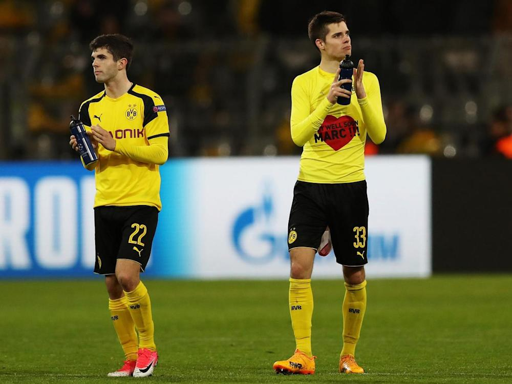 Dortmund lost on a night that was about anything but football (Getty)