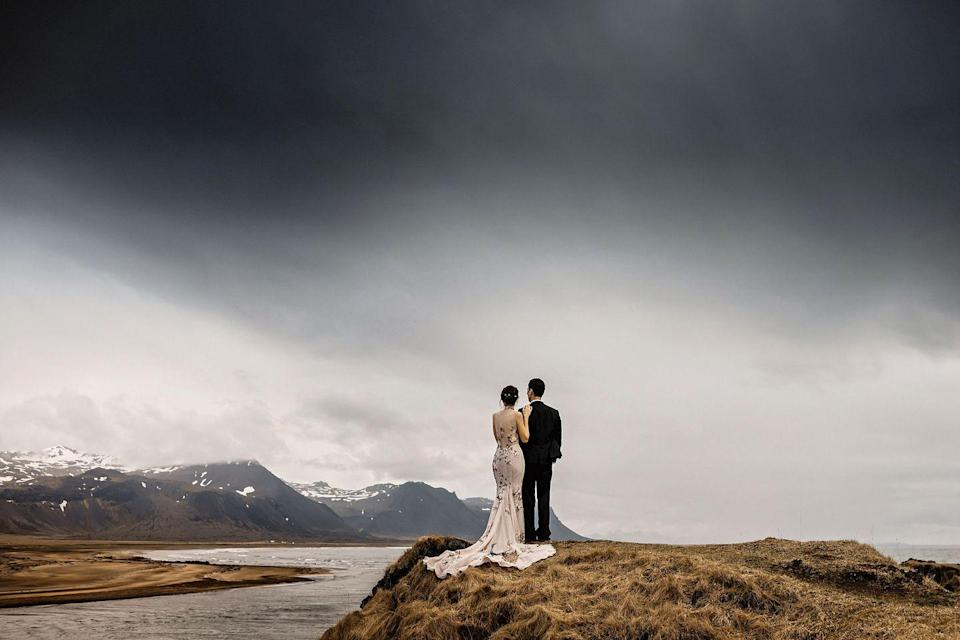 "<p>Professional, but informal is Rooney's skill when it comes to capturing emotive, fun and modern wedding photos. With 14 years of experience in photographing a couple's big day on camera, the North West-based photographer has flown around the world to shoot weddings, from Scotland and France to the beaches of Southern Iceland.</p><p>'Photography has been a passion of mine since I was around ten years old and the passion soon became a profession,' he explains.</p><p>'My style of photography is a unique mix of creative portraits and real moments for adventurous couples who want an informal approach to wedding photography.'</p><p>When it comes to UK-based weddings, Rooney has snapped couples in venues such as Kensington Roof Gardens and The Savoy Hotel in London, as well as in Liverpool, Manchester and Cheshire.</p><p><strong>Prices</strong>: On request</p><p><strong>Find Steve Rooney on Instagram <a href=""https://www.instagram.com/stevenrooneyphotography/"" rel=""nofollow noopener"" target=""_blank"" data-ylk=""slk:here"" class=""link rapid-noclick-resp"">here</a>.</strong></p><p><strong><a class=""link rapid-noclick-resp"" href=""https://stevenrooneyphotography.com/"" rel=""nofollow noopener"" target=""_blank"" data-ylk=""slk:BOOK HERE"">BOOK HERE</a></strong></p>"