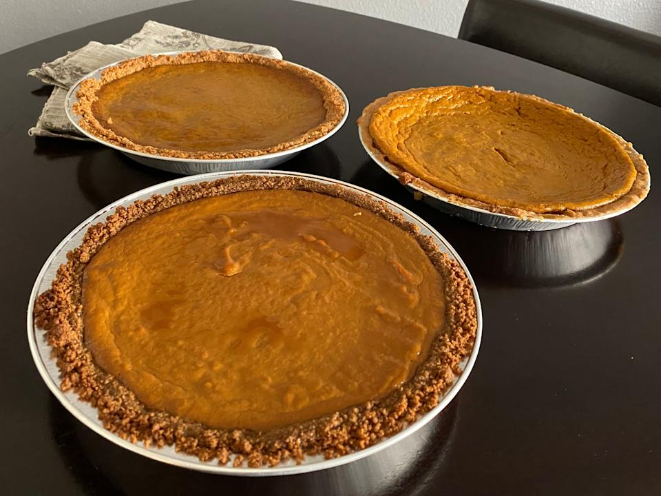 All pies 2, left to right