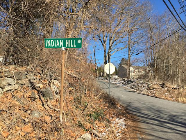 Indian Hill Road in Yorktown leads to the Indian Hill section of Donald J. Trump State Park. (Photo: Michael Walsh/Yahoo News)