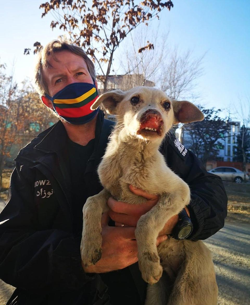 Pen Farthing, founder of animal rescue charity Nowzad.  (PA)