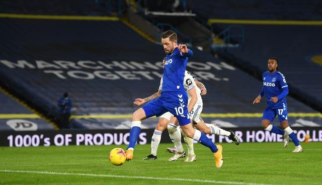 Gylfi Sigurdsson opens the scoring at Elland Road