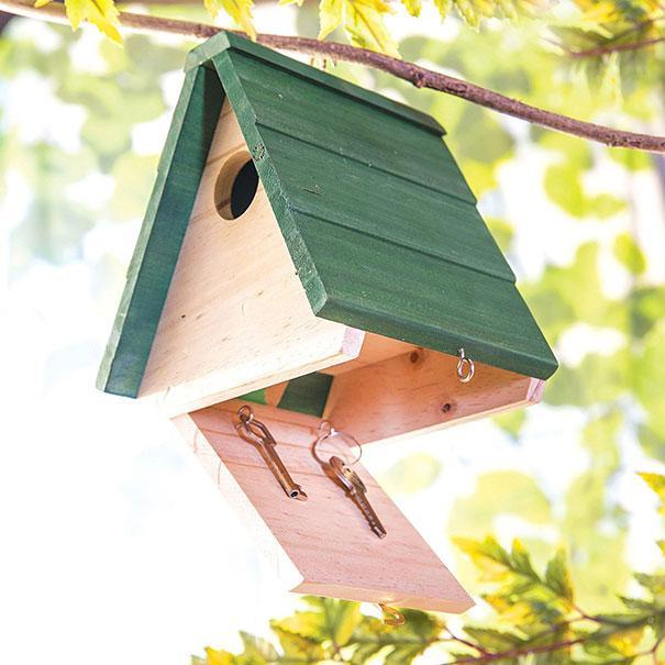 <p>Not only can this be a home for the birds in your garden, but it can also be a great place to keep things like the back door or shed keys. [photo: amazon] </p>