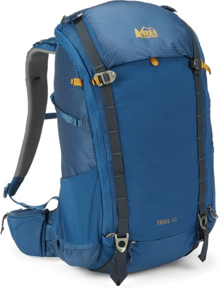 "<br><br><strong>REI</strong> Co-op Trail 40 Pack, $, available at <a href=""https://go.skimresources.com/?id=30283X879131&url=https%3A%2F%2Fwww.rei.com%2Fproduct%2F168485%2Frei-co-op-trail-40-pack-mens"" rel=""nofollow noopener"" target=""_blank"" data-ylk=""slk:REI"" class=""link rapid-noclick-resp"">REI</a>"