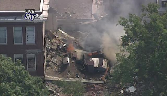 <p>Fire crews responded to the school in the Longfellow neighborhood of Minneapolis on August 2, 2017. (WCCO 4 News) </p>