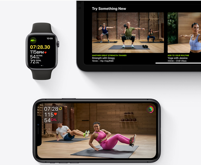 Apple's line-up reflected a new focus on services (Apple)