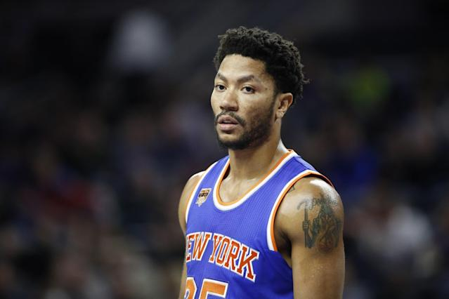 Derrick Rose has averaged 18 points and 4.4 assists per game this season. (AP)