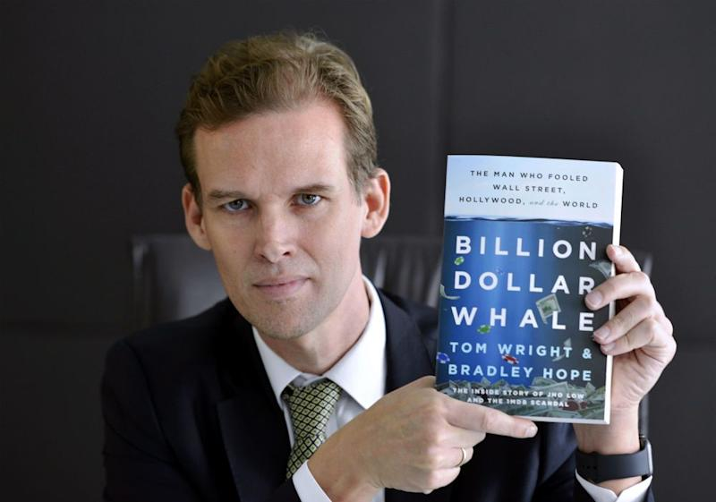 Tom Wright is in Malaysia to promote his book 'Billion Dollar Whale', September 25, 2018. ― Picture by Ham Abu Bakar
