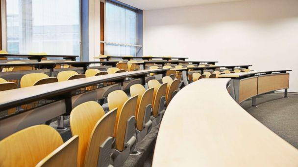 PHOTO: A stock photo of a college classroom is seen here. (STOCK PHOTO/Getty Images)