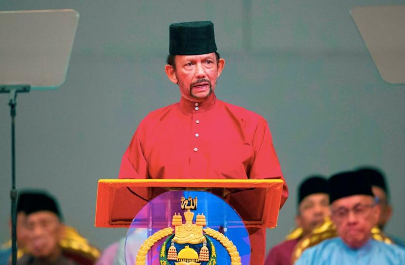 The Sultan of Brunei recently declared that gay sex in his country should be punished by stoning to death (Getty)