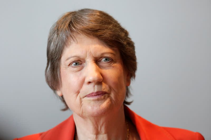 Helen Clark, former Prime Minister of New Zealand and member of the Global Commission on Drug Policy, attends a meeting of the commission in Mexico City