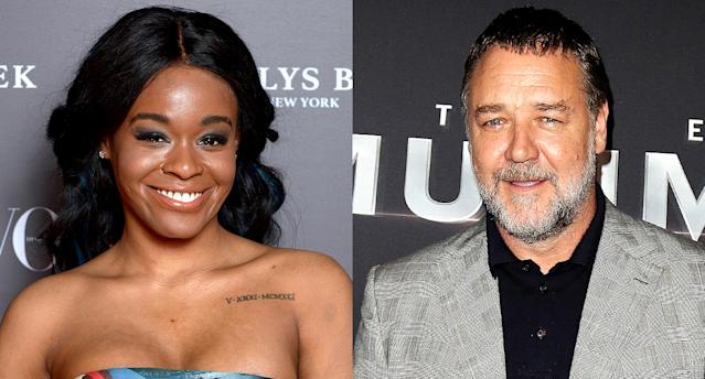Azealia Banks alleges that Russell Crowe abused her. (Photo: Getty Images)