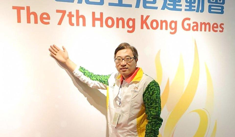 Cheng Keung-fung lost by 381 votes in the November 2019 elections. Photo: Facebook