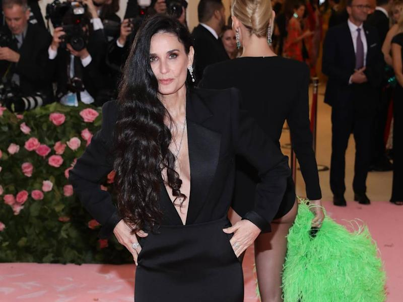 Demi Moore credits smiling as her anti-ageing secret