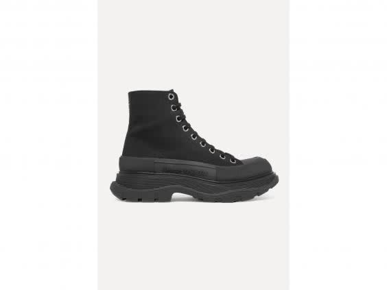 Hard-wearing and durable, these boots will serve you well in winter (Alexander McQueen)