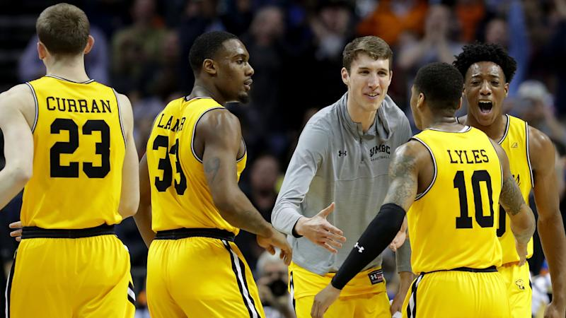 1a058892262 March Madness 2018: Stephen Curry gives UMBC some swag