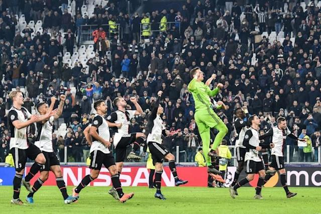 Juventus sealed top spot in their Champions League Group D. (AFP Photo/Marco BERTORELLO )