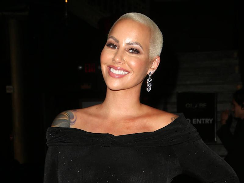 Amber Rose undergoes liposuction six weeks after giving birth
