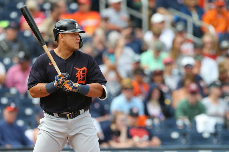 Miguel Cabrera #24 of the Detroit Tigers