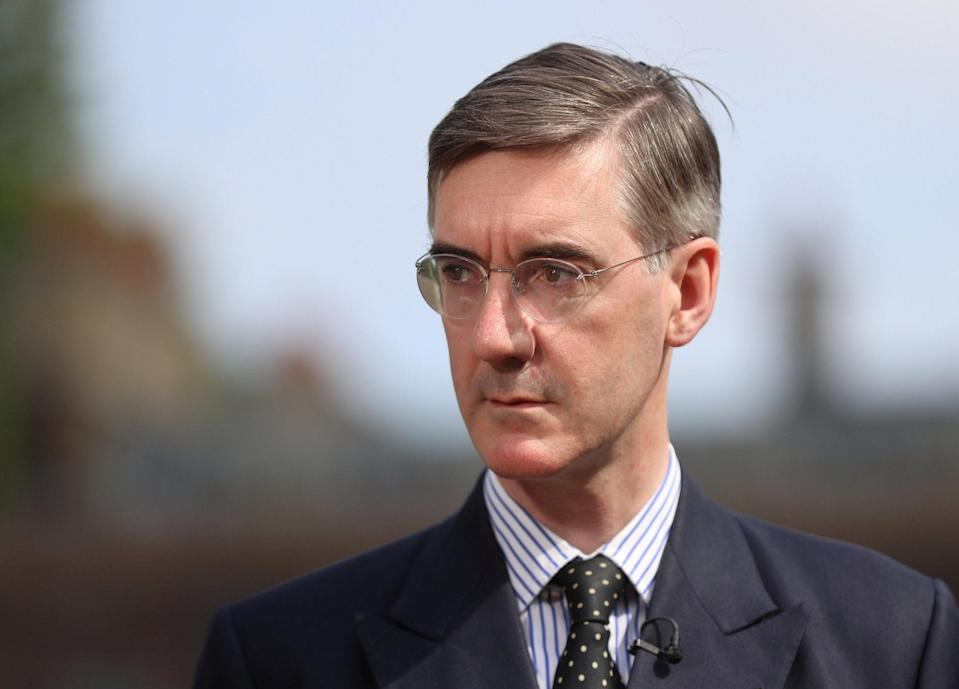 <p>Jacob Rees-Mogg has claimed that a no deal Brexit would be worth '£1.1trn' to the UK economy</p>