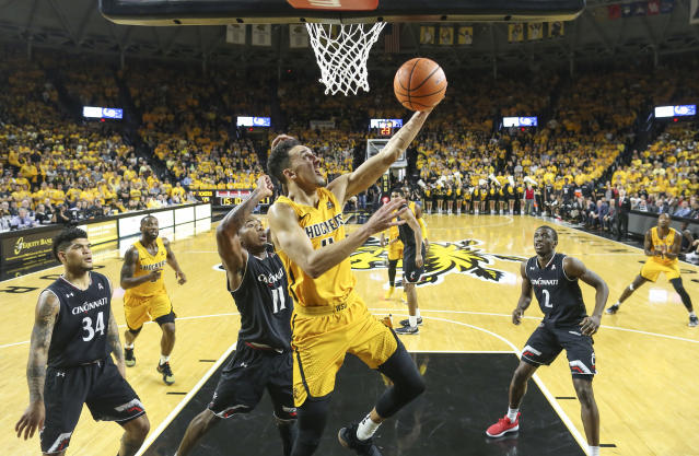 College basketball could use another contentious showdown between Wichita State and Cincinnati this weekend. (AP)