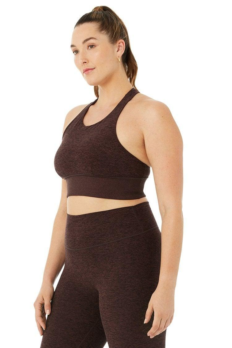 <p>The fabric of this <span>Alo Alosoft Serenity Bra</span> ($62) is so soft and buttery. It's one sports bra you'll happily wear all day long.</p>