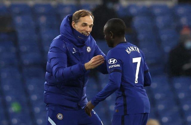 N'Golo Kante, pictured, was back to his very best with Chelsea before injury struck on France duty
