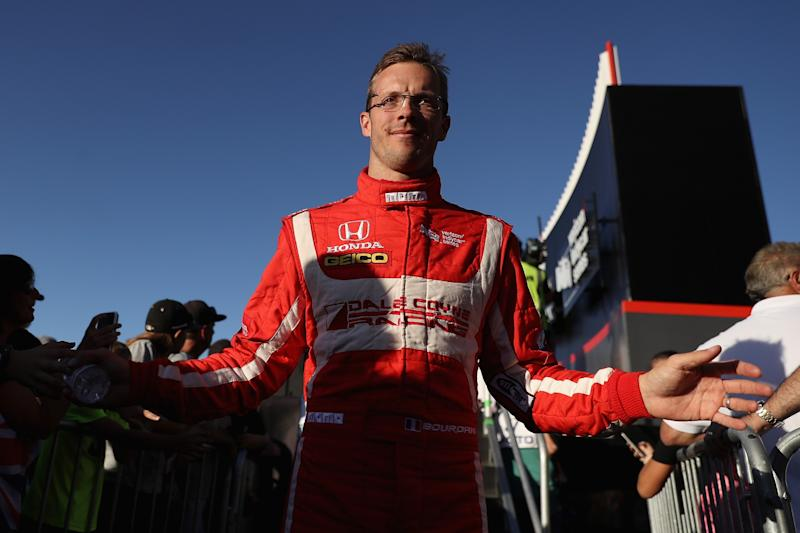 Bourdais suffers multiple fractures in Indy crash