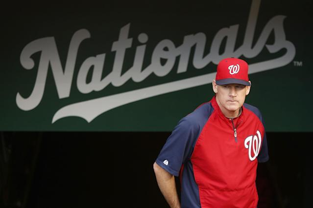 Manager Matt Williams finding his place with the Nationals