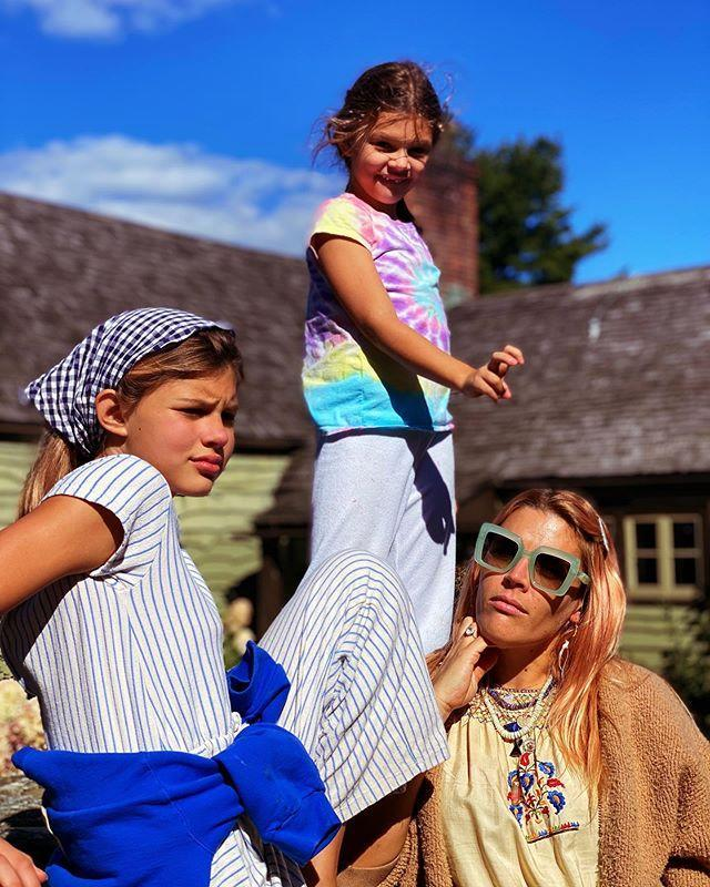 """<p>As a mom of two, Philipps is <a href=""""https://people.com/parents/busy-philipps-life-in-quarantine-overwhelming-silver-lining/"""" rel=""""nofollow noopener"""" target=""""_blank"""" data-ylk=""""slk:trying to maintain a positive outlook"""" class=""""link rapid-noclick-resp"""">trying to maintain a positive outlook</a> during what's been """"an overwhelming time.""""</p> <p>""""I have found moments of really being so glad that I've gotten to be with my kids in this time,"""" the star told PEOPLE of her daughters <a href=""""https://people.com/parents/busy-philipps-birdie-leigh/"""" rel=""""nofollow noopener"""" target=""""_blank"""" data-ylk=""""slk:Birdie Leigh"""" class=""""link rapid-noclick-resp"""">Birdie Leigh</a> and <a href=""""https://people.com/parents/busy-philipps-welcomes-daughter-cricket-pearl/"""" rel=""""nofollow noopener"""" target=""""_blank"""" data-ylk=""""slk:Cricket Pearl"""" class=""""link rapid-noclick-resp"""">Cricket Pearl</a>. """"Because I have worked so much for most of their lives, I just haven't been able to be with them that much, not since Birdie was a baby.""""</p> <p>""""It's an overwhelming time, but I've just been trying to find silver linings,"""" Philipps added. """"I'm really looking forward to 2021.""""</p>"""