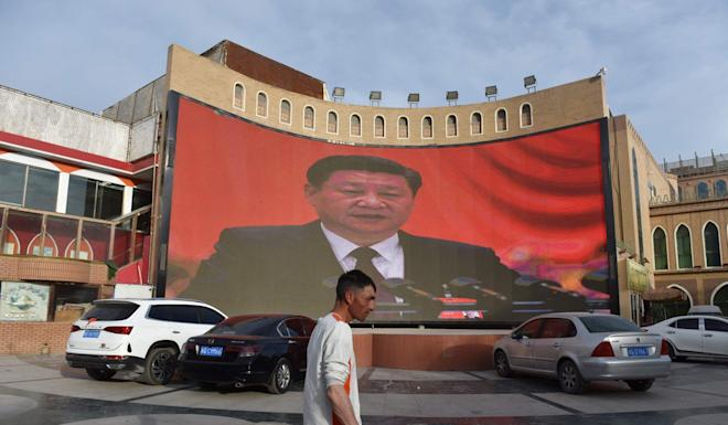 China describes the detention camps in Xinjiang as training and education centres. Photo: AFP