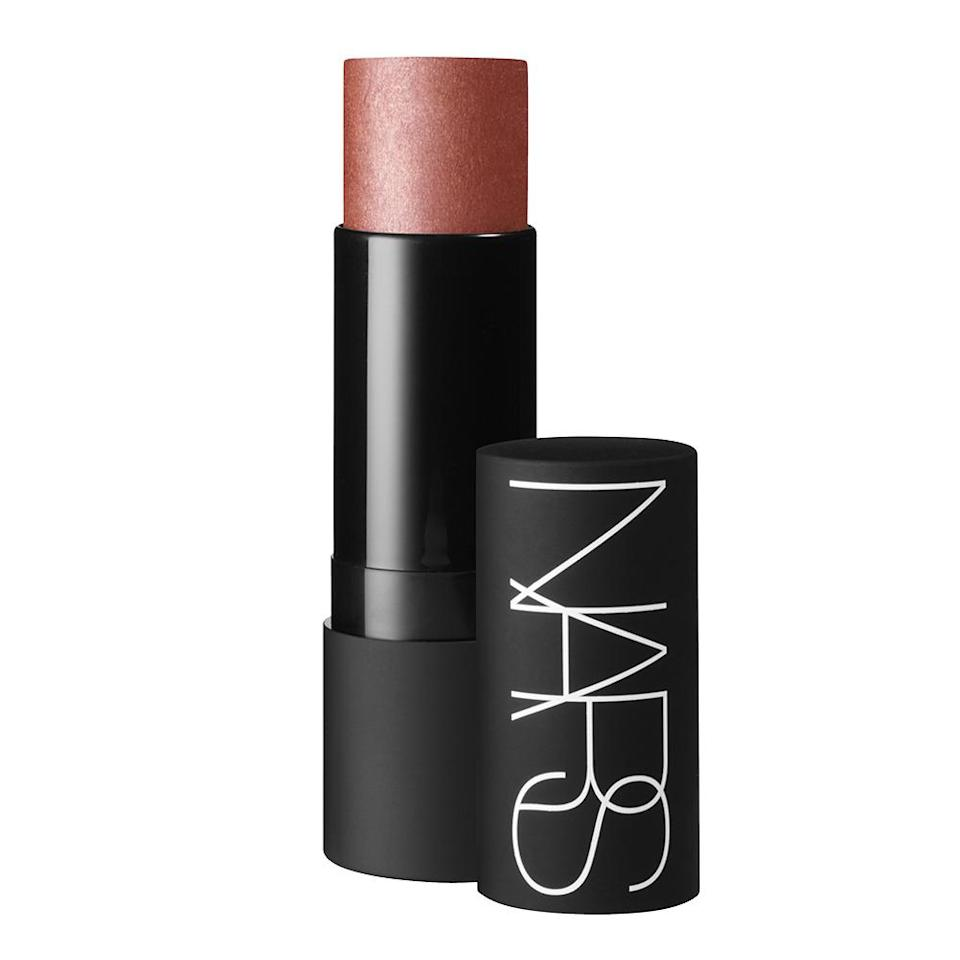 "<p>This beloved cult product can be used is many ways, but rubbed into cheeks it provides a gorgeous realistic flush. <b><a href=""http://www.narscosmetics.com/USA/multiple"" rel=""nofollow noopener"" target=""_blank"" data-ylk=""slk:Nars The Multiple"" class=""link rapid-noclick-resp"">Nars The Multiple</a> ($39)</b></p>"