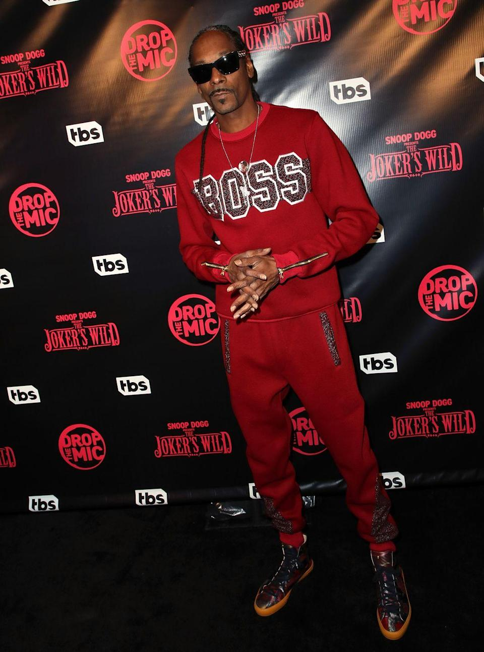 <p>A version of the popular game show was revived by TBS in 2017 as <em>Snoop Dogg Presents The Joker's Wild</em>. In 2019, the show moved to TNT. The rapper is also the executive producer. Contestants have a chance to win big bucks, unless they decide to quit and accept Snoop's cash offer.</p>