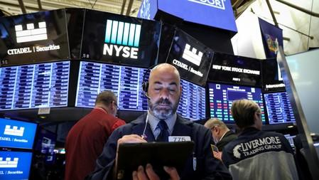 Wall Street edges higher at open on tech boost