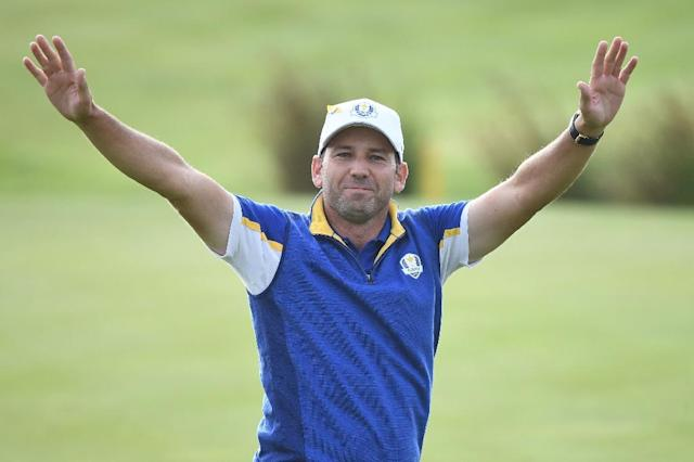 Sergio Garcia has rediscovered his form after helping Europe regain the Ryder Cup (AFP Photo/FRANCK FIFE)