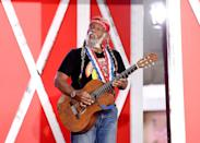 <p>And who knew Al Roker could carry a tune?! Dressing up as Willie Nelson, he sported the singer's legendary long braids and a bandana around his forehead. Well played, Mr. Roker. Well played. </p>