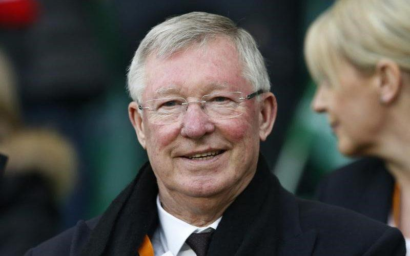 Sir Alex Ferguson in the stands - Credit: Action Images via Reuters
