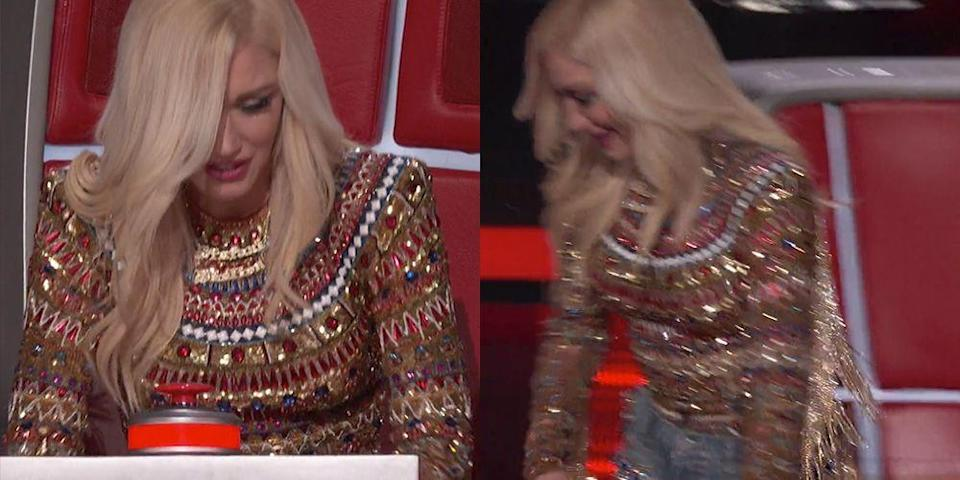 "Gwen Stefani Walked Off Saying She Would ""Quit"" During an Episode of 'The Voice'"
