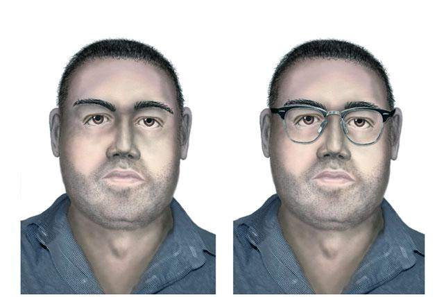 """This illustration provided by the press office of the Bulgarian Interior Ministry on Thursday, Aug. 16, 2012 shows a computer-generated image of a man suspected of involvement in the bombing that killed five Israeli tourists and a Bulgarian bus driver a month ago in Burgas.   The Interior Ministry said Thursday that """"there is data that the man is related to the terrorist attack at the airport.""""  (AP Photo/Bulgarian Interior Ministry)"""