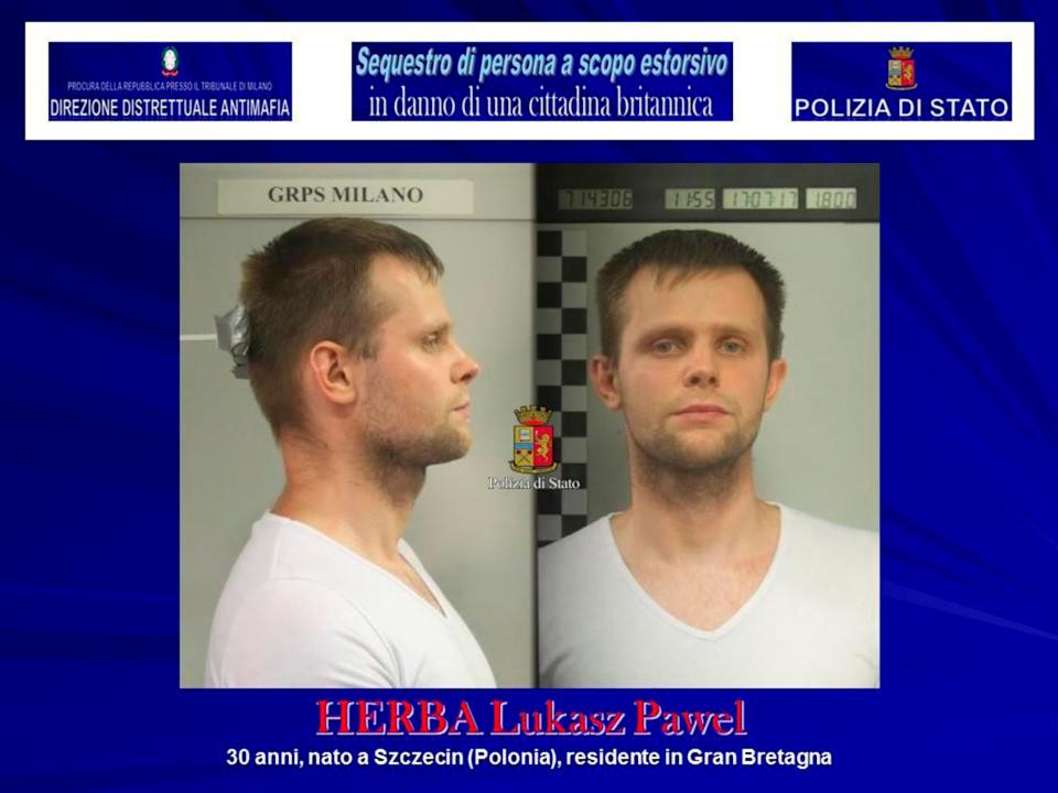 <strong>Lukasz Pawel Herba has been arrested onsuspicion of kidnap and extortion</strong> (Photo: Handout . / Reuters)